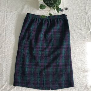 Vintage Alfred Dunner pencil skirt wool 6